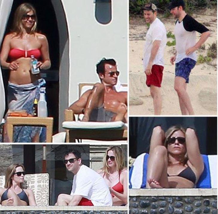 famosos vacaciones juntos2 - 18 fotos de famosos que salieron de vacaciones con otras celebs. Los Jonas ni se separan