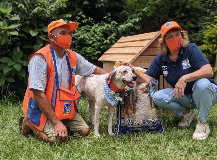 Captura de Pantalla 2021 01 21 a las 16.46.20 - Indio, el perrito vendedor de lotería, recibió regalos por su buen trabajo. Los merece todos