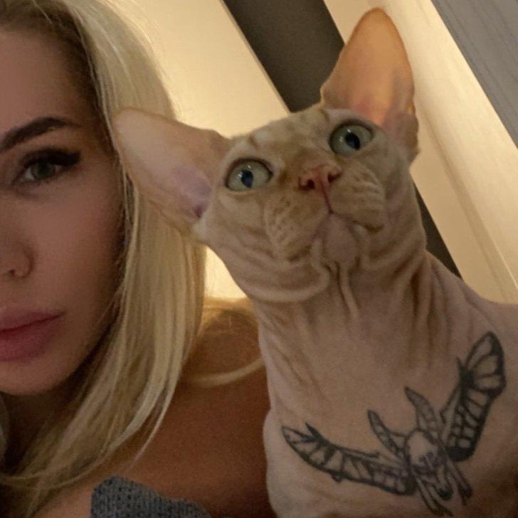 tatuaje gato0002 - Follower verzeihen Influencerin noch nicht, dass sie ihre Katze auf die Brust tätowiert hat. Sie fordern Gerechtigkeit
