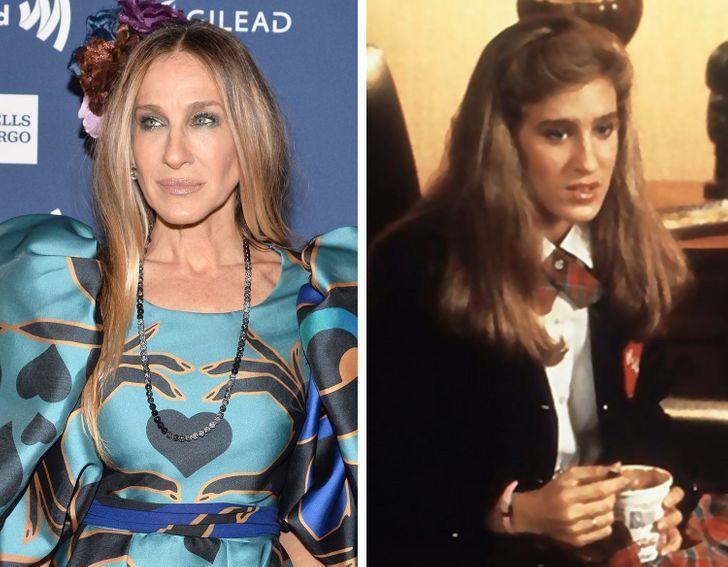13 13 - Así lucían estas 15 estrellas de Hollywood en sus primeros papeles. Angelina era idéntica a Shiloh