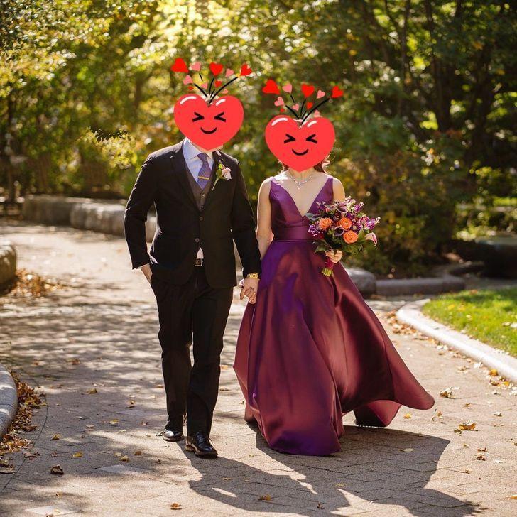 15 5 - 30 novias que no usaron el típico vestido blanco en su boda. Una se vistió de dinosaurio