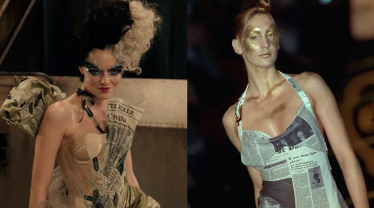 """5 27 - 15 icónicos vestidos de moda que inspiraron los glamorosos looks de """"Cruella"""""""