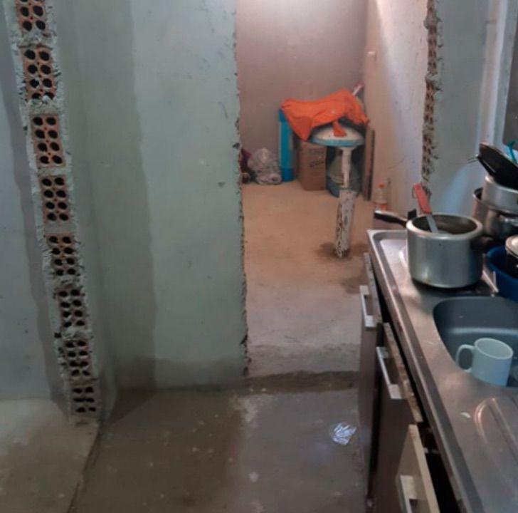 Captura de Pantalla 2021 07 13 a las 17.21.03 - Mujer mostró su casa a medio terminar en TikTok y sus fans hicieron una colecta. La pudo reconstruir