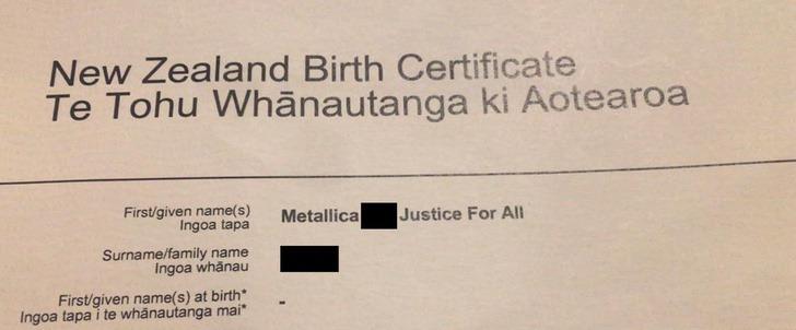 bebes nombres metall0001 - Metallica, Slayer y Pantera: Madre fanática del heavy metal nombró a sus tres hijos por las bandas