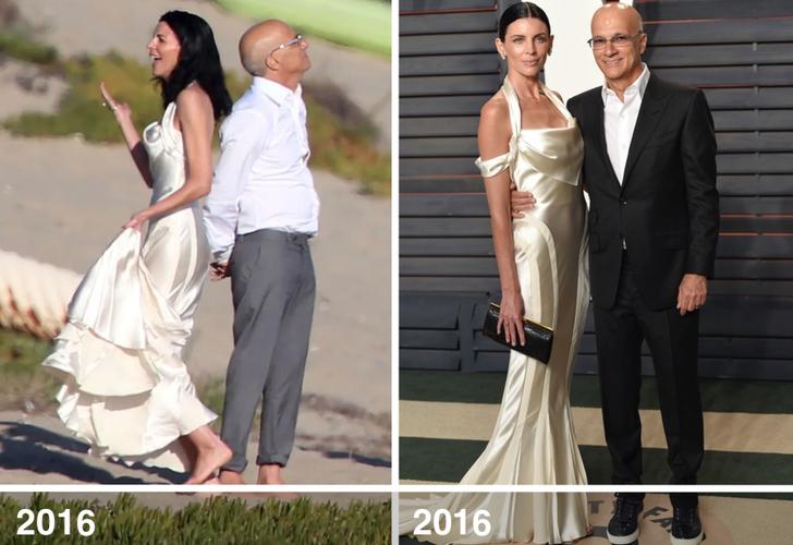 2 65 - 10 famosas que desempolvaron sus antiguos vestidos de novia y los volvieron a usar