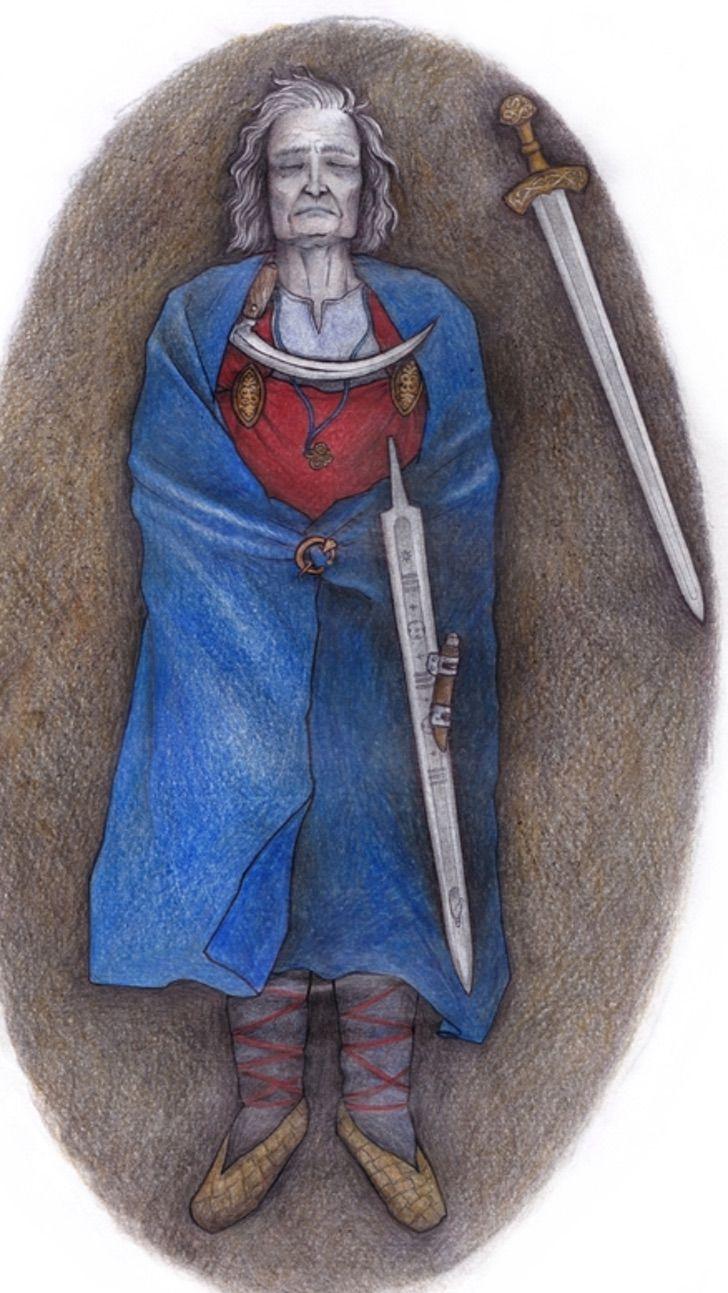 """Captura de Pantalla 2021 08 10 a las 16.32.33 - Ils découvrent les restes d'une personne non binaire dans une tombe de l'époque médiévale. Elle était """"respectée"""" et """"estimée"""""""