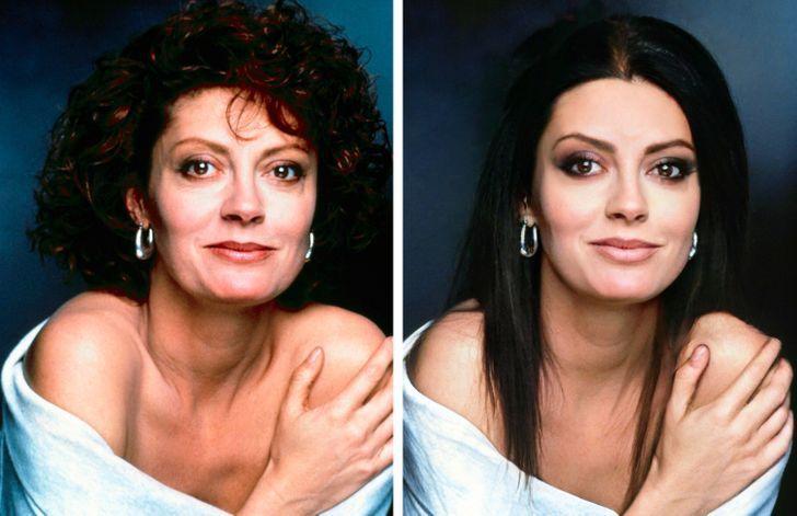 famosas tendencias belleza3 - Así se verían 15 mujeres famosas si hubiesen cambiado sus peinados por algo más moderno