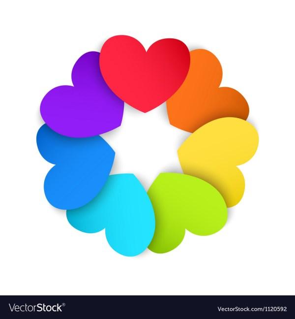 hearts colors # 72