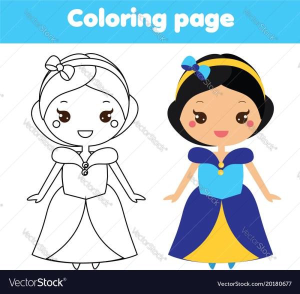 princess color page # 41