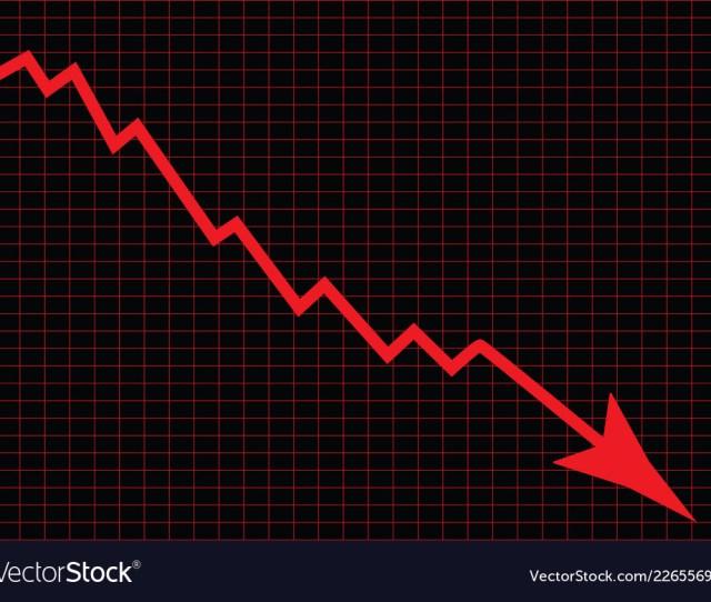 Stock Market Crash Royalty Free Vector Image Vectorstock