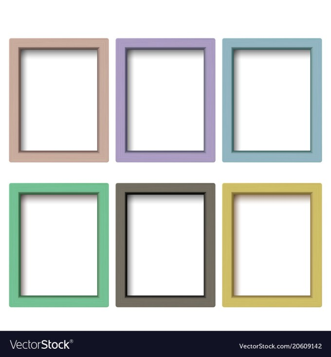 Colorful Picture Frames Set | Siewalls.co