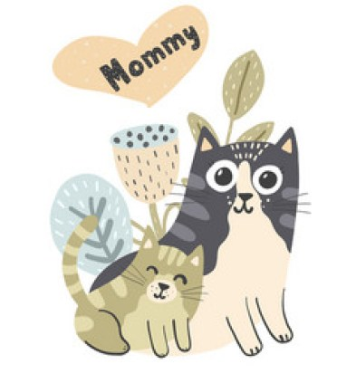 Cat Mom Vector Images (over 770)
