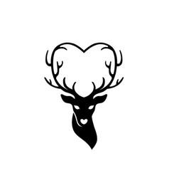 Download Cartoon deer Royalty Free Vector Image - VectorStock
