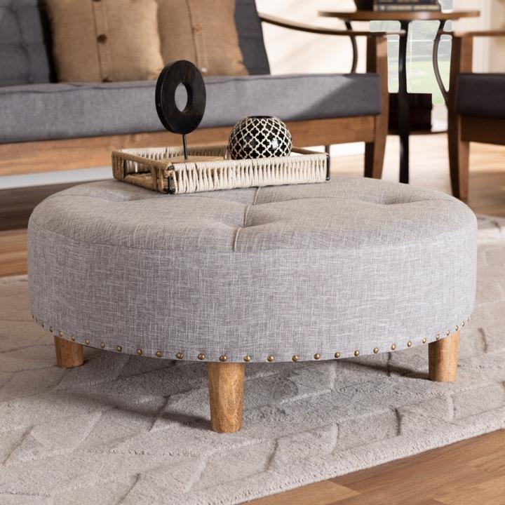 wow designer studio living room ottomans enhance your living space