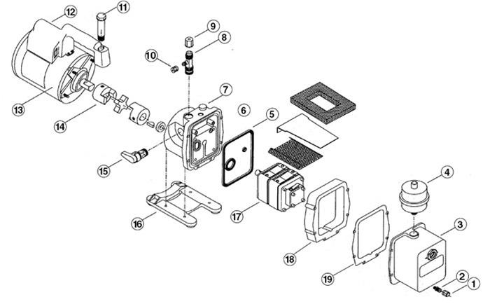 robinair vacuum pump replacement parts
