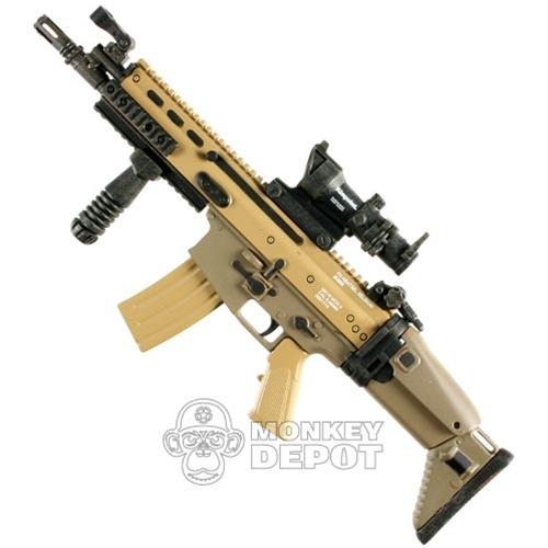 Rifle Hot Toys SCAR L CQC WACOG Grip Pod
