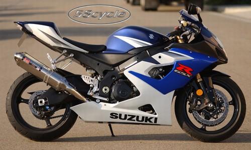 2005 2006 suzuki gsxr1000 yoshimura trc full exhaust system