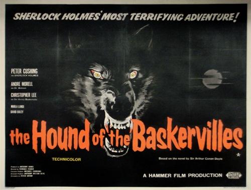 Resultado de imagen de THE HOUND OF THE BASKERVILLES 1959