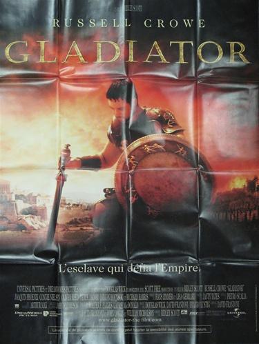 original french movie poster the gladiator