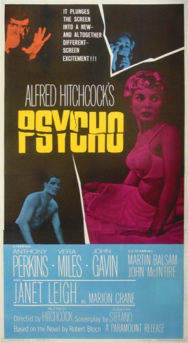 psycho original us three sheet
