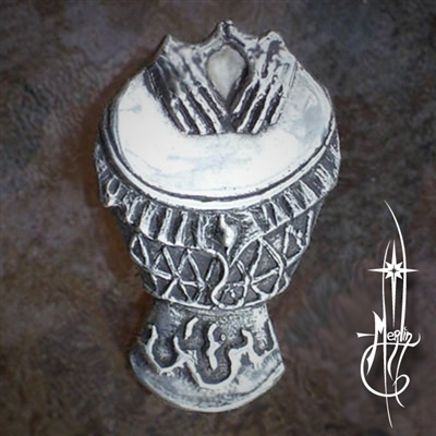Merlin's Djembe of Fire Amulet
