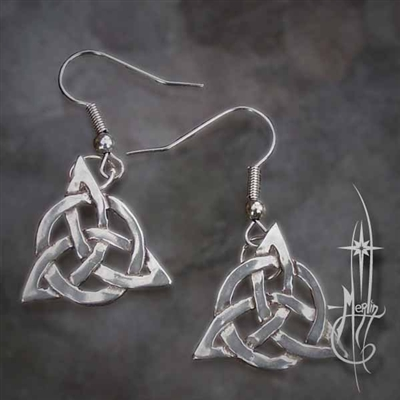 The Triquetra Earrings