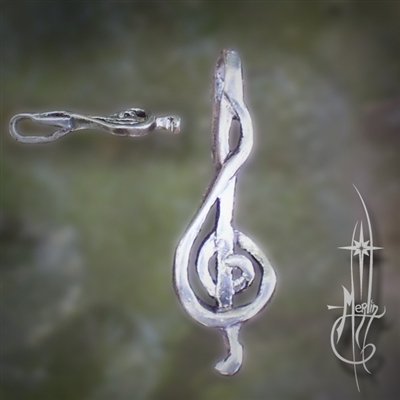 The Treble Clef Amulet