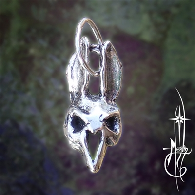 Bunny Skull Amulet