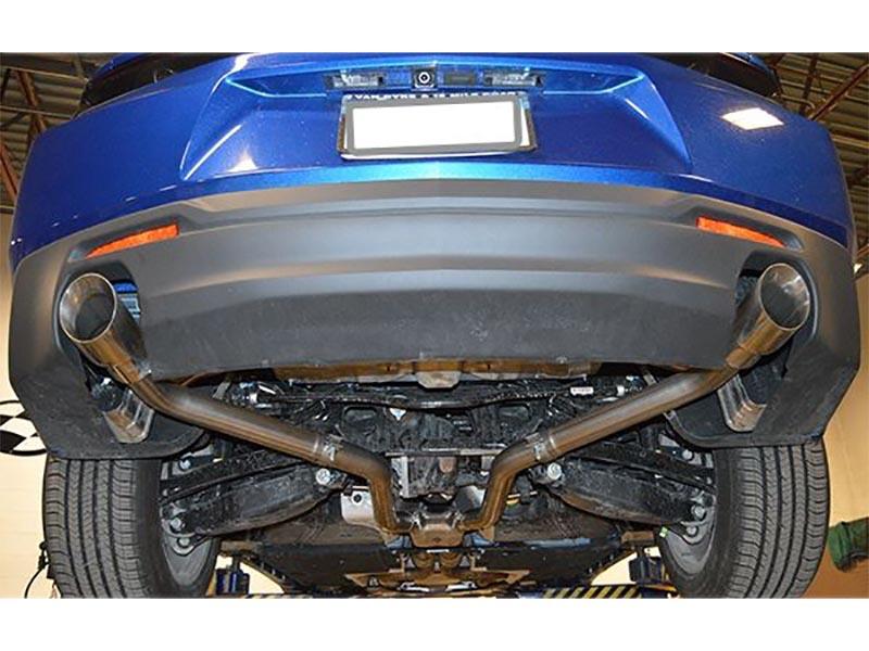 mrt 2 5 version 3 muffler delete axle back exhaust system 4 tips 2016 2018 camaro v6
