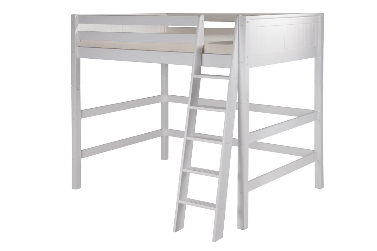 Camaflexi Full High Loft Bed Panel Headboard White