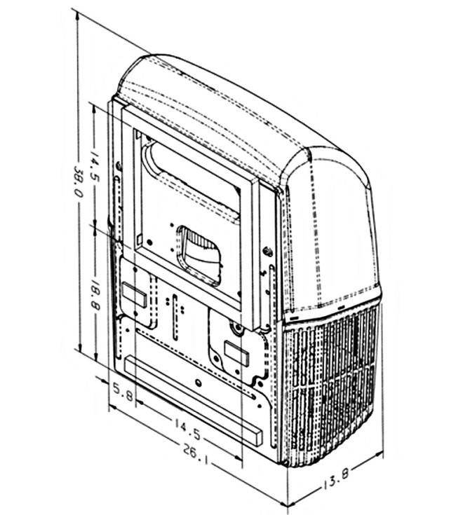 coleman mach 15 plus 48204666 rv rooftop air conditioner  white  15k