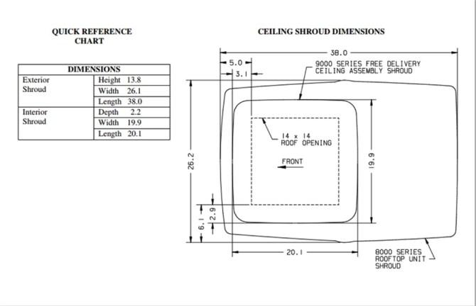 coleman mach 3 power saver 48208c966 rv rooftop air conditioner  white   135k
