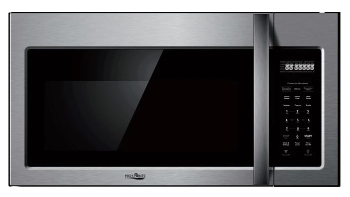 high pointe ec942k6bes over the range convection microwave oven stainless steel
