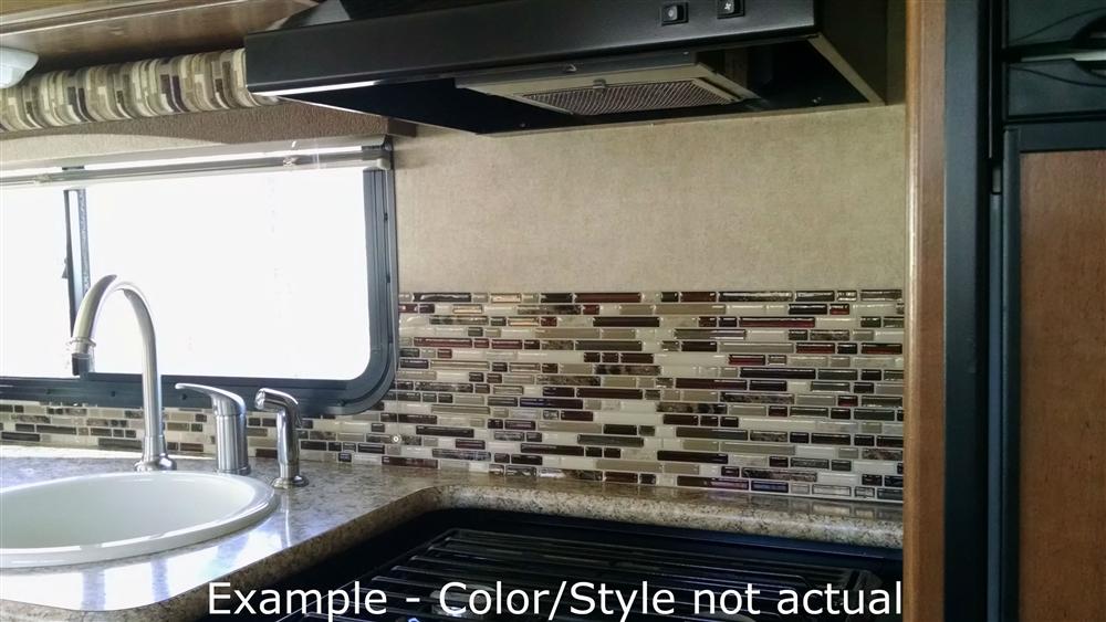 smart tiles sm1078 4 pack mosaic tile rv backsplash milano grigio