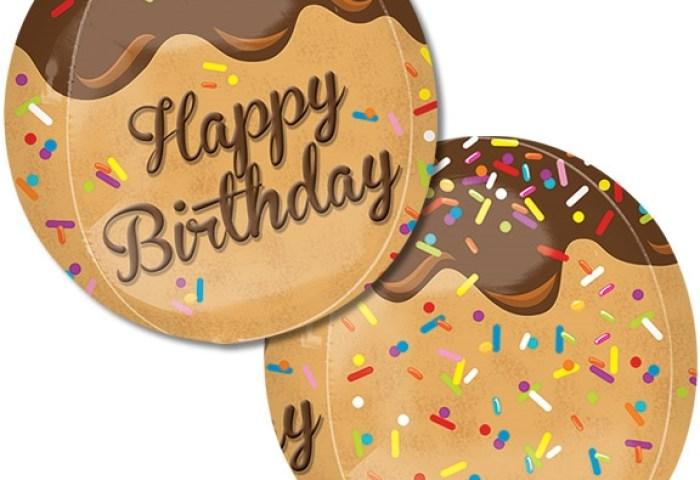 16 Inch Happy Birthday Cake Pop Orbz