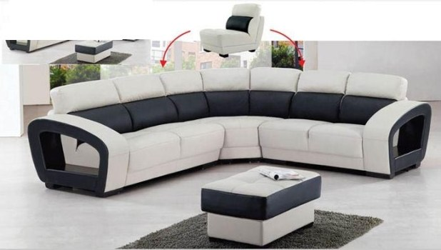 high back sectional sofas. Black Bedroom Furniture Sets. Home Design Ideas
