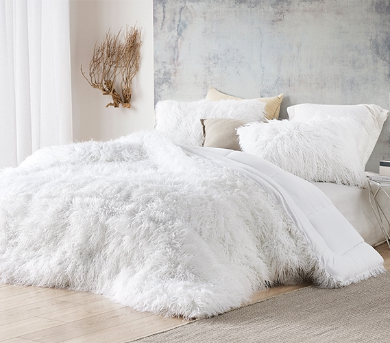 the bare himalayan yeti coma inducer twin xl comforter pure white
