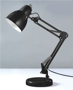 The Adjusto College Desk Lamp   Black Dorm Lamps Cheap Dorm Lighting     Cheap Lamp   The Adjusto College Desk Lamp   Black   Needed For Reading In  Dorm