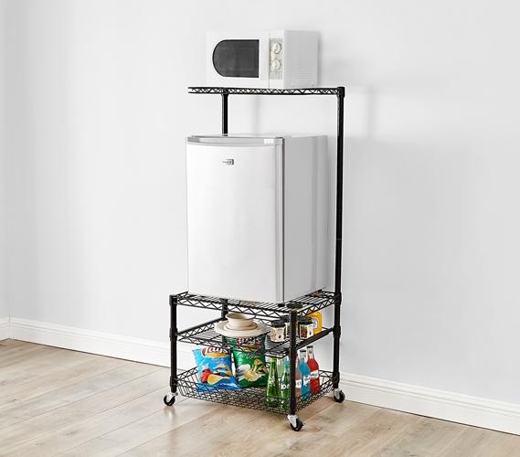 suprima portable mini fridge organizer