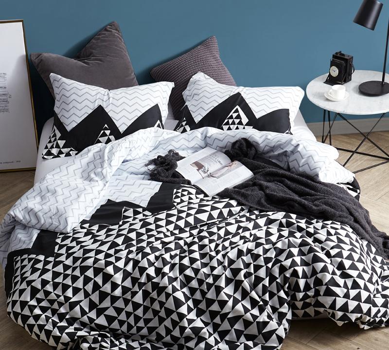 chevron duvet cover for king bedspread black white and gray oversized king bedding chevron peaks