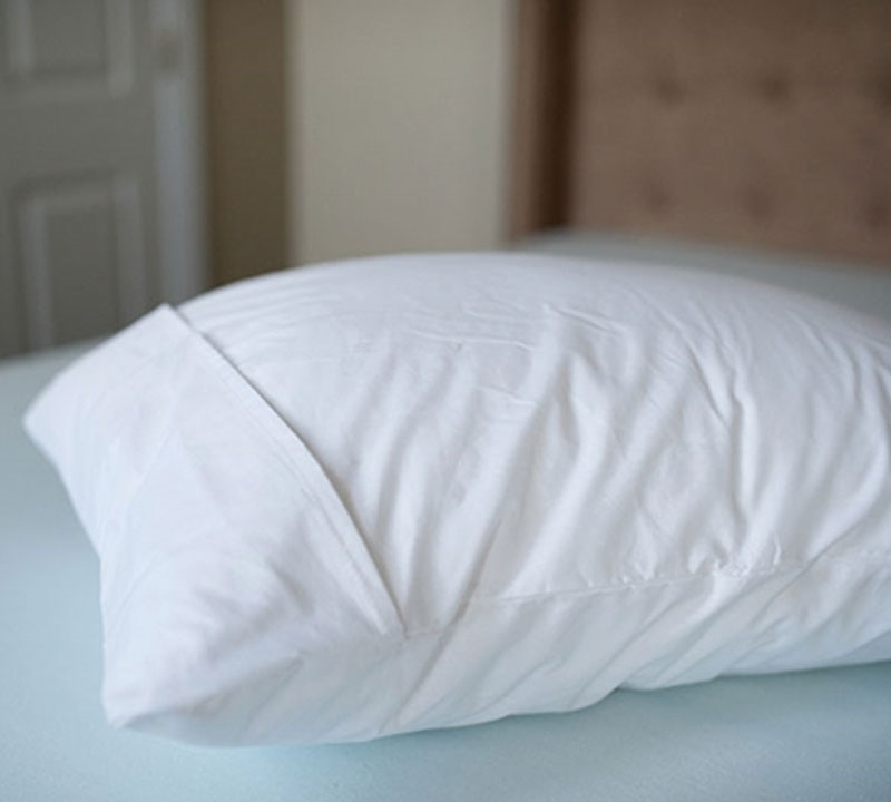 french fold pillow cover standard pillow cover