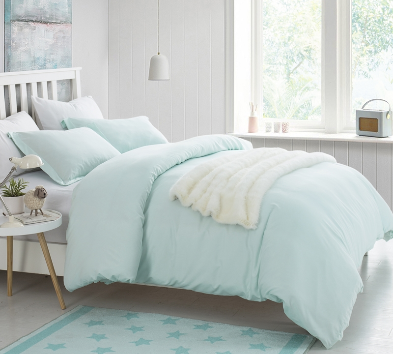 duvet cover hint of mint supersoft bedding king