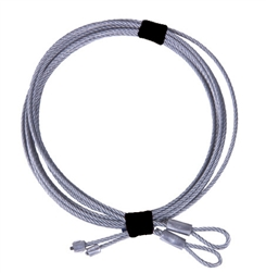 Replacement Garage Door cable set for 8' high torsion ... on Overhead Garage Door Spring Replacement  id=82591