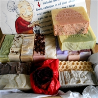 Handmade Natural Artisan Soap Gift Set - Handcrafted Skin Care Soap - Great Gift for all, Bars selected are from our finest collection