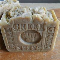All Natural  Greek Olive Oil soap, artisan handmade  made skin care bar ,