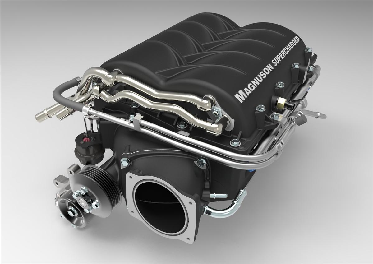 Chevrolet Corvette C6 LS3 62L V8 Heartbeat Supercharger