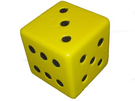 Giant 6  Foam Dice for large dice games Our