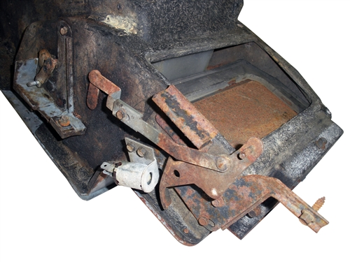 1968 Camaro Under Dash Heater Core Box Assembly, With Air