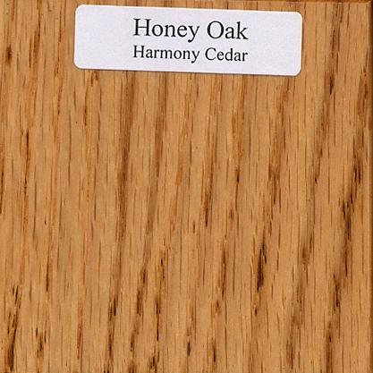 honey oak wood sample