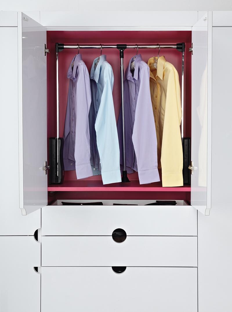 Rev A Shelf Side Mount Wardrobe Lift